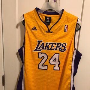 Laker's Bryant 24  jersey